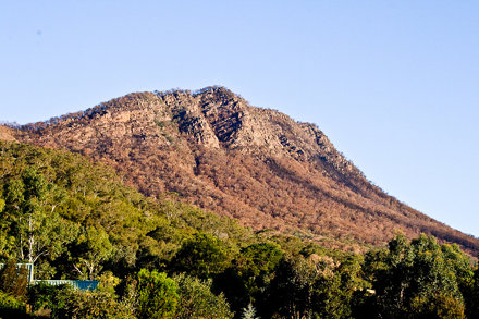 The Cathedral Ranges