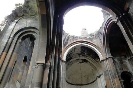 Interior of Cathedral - Ani (Ancient Armenian Capital) - Near Kars - Turkey