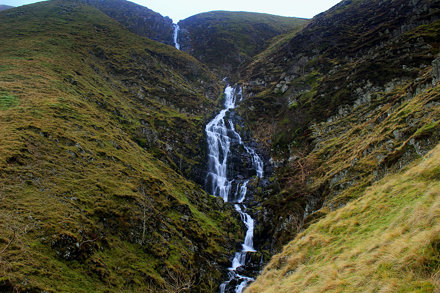 Cautley Spout, upper sections.