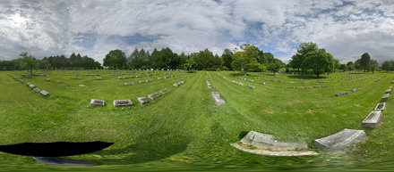 Cave Hill Cemetery Pano