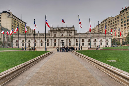 La moneda - Santiago de Chile