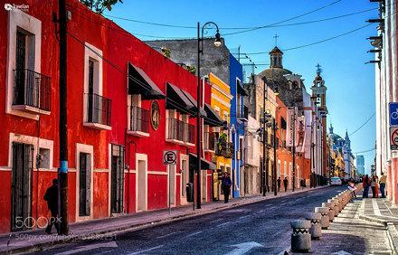 Streets of Puebla I