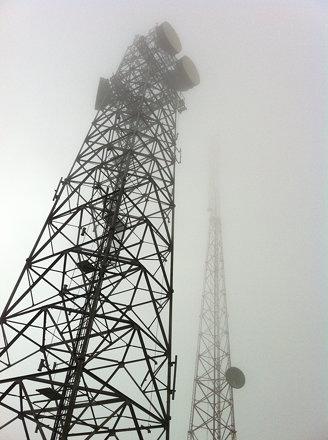 Antenas en el Cerro Maravilla, Villalba