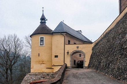 Hrad Český Šternberk (Burg Böhmisch Sternberg)