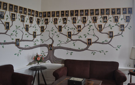 Castle Sternberg - the family tree in portraits