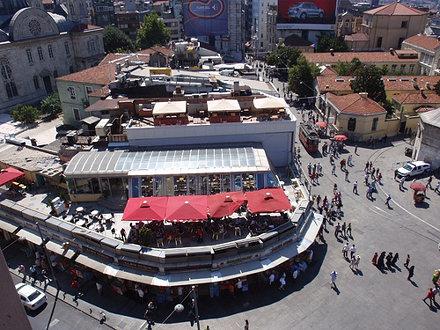 Restaurants in Taksim Meydani - Istanbul