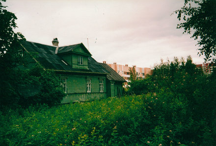 An Old House in Kolomyagi, Saint Petersburg