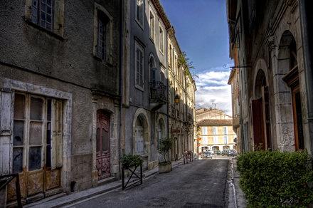 Aurignac street HDR