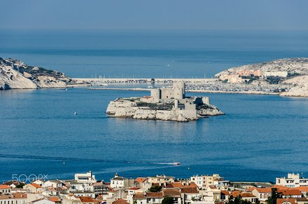 Marseilles - Chateau d'If - France