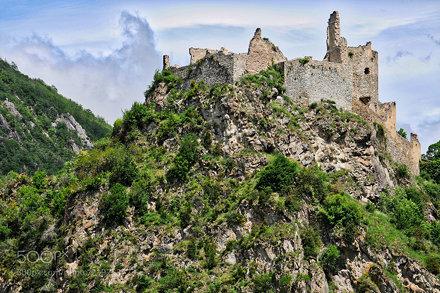 Usson Castle - Château d'Usson (France)