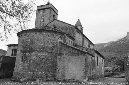Le Jour ni l'Heure 7139 : église de la Nativité de Saint Jean-Batiste, fin du XIe, début du XIIe s.,