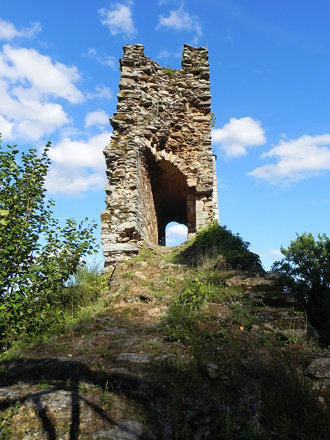 Les ruines des Tours de Chalucet