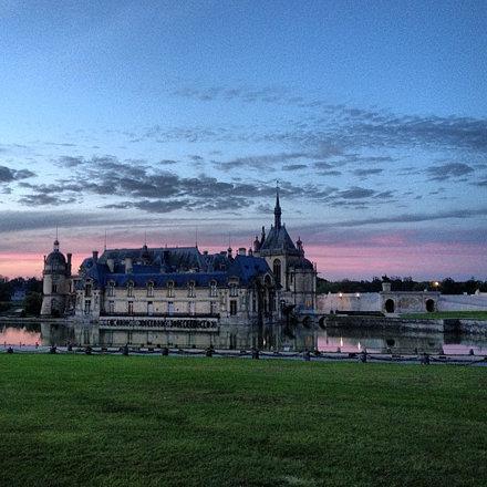 #château #castle #patrimoine #france #crépuscule #twilight