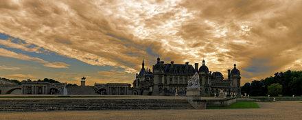 Chantilly fin de journée