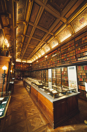 Library, Château de Chantilly