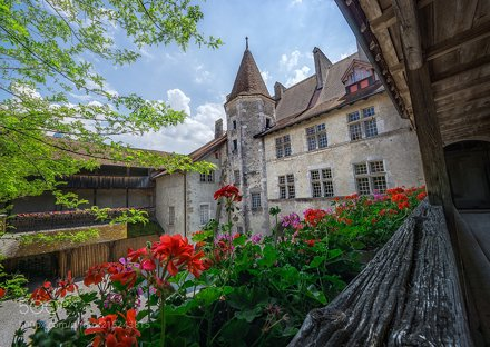 Castle in Gruyeres