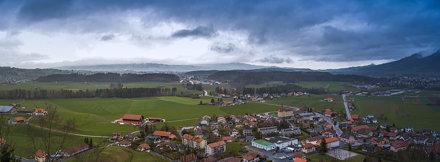 Gruyère, Switzerland, Panorama