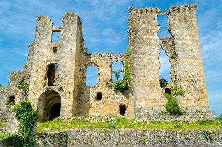 Chateau de Lagarde (Ariege/France)