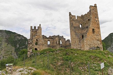 216 Capoulet, château de Miglos