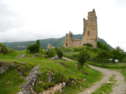Chateau de Miglos - castle at Miglos
