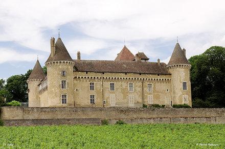 71 Rully - Château XIV XV XVII
