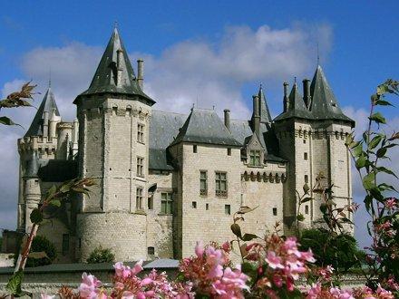 Saumur, castle