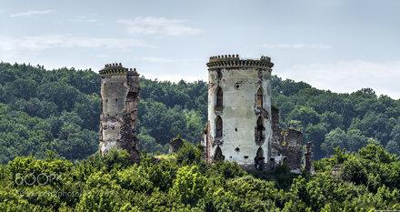 Chervonohrud (Chervonohorod, Nyrkiv). Castle.