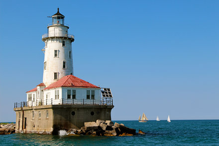 Chicago Harbor Light