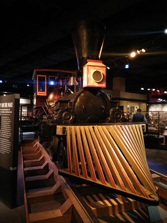 The Pioneer - Chicago's first steam engine
