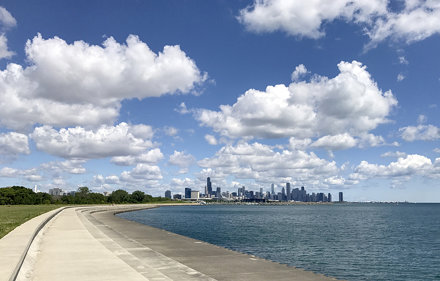 Skyline Views of Chicago