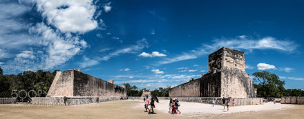 Great Ball Court, Chichen Itza