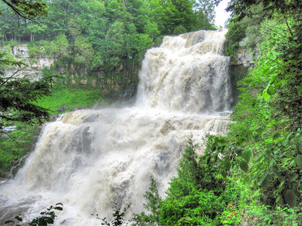 Chittenango Falls (high water) 1