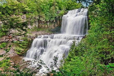 Chittenango Falls from landing