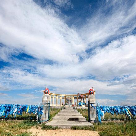 Mongolian horse monument. #mongolia