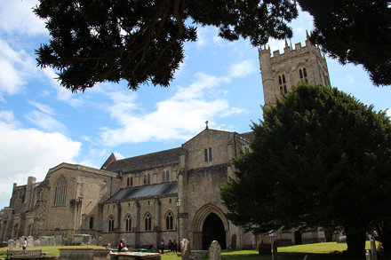 Priory Church Grounds, Christchurch