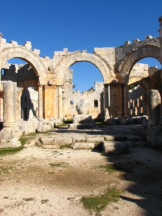 Qala'at Samaan (St Simeon's Basilica)