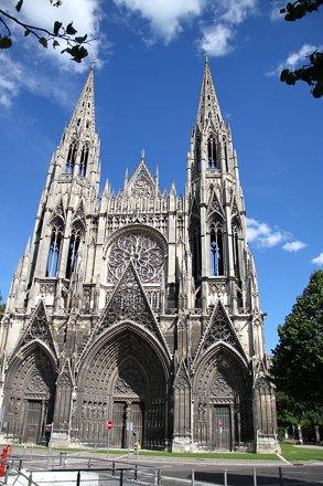 Church of St Ouen in Rouen