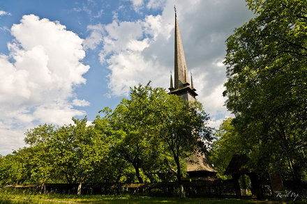 The tallest wooden church in the world