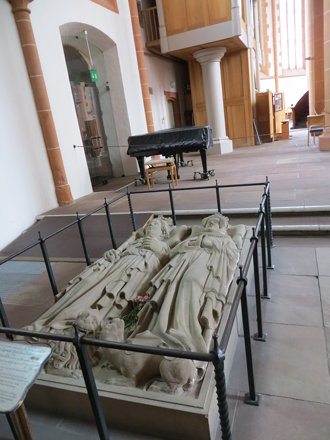 Tomb of Prince-Elector Rupert III in Church of the Holy Ghost / Church of the Holy Spirit  (Heiligge