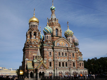 THE CHURCH OF THE LION BLOOD - SAN PETERSBURG - RUSSIA