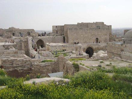 Aleppo - Citadel Palace Ceiling I