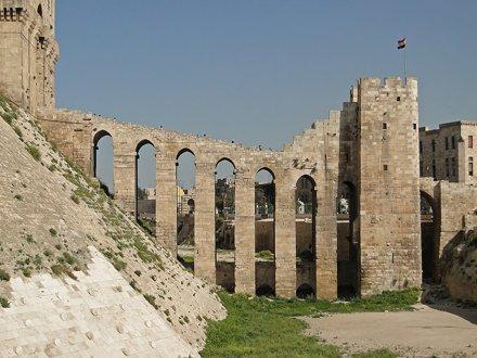 Aleppo Citadel in Syria