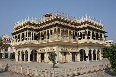 Jaipur, City Palace, Mubarak Mahal