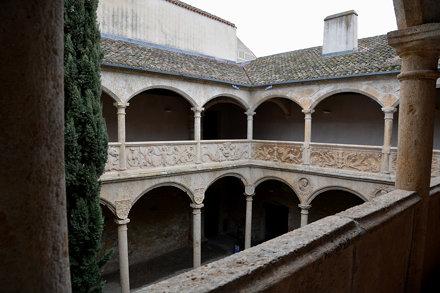 Ciudad Rodrigo (Salamanca). Palacio de los Águila. Patio