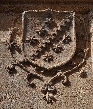 Ciudad Rodrigo (Salamanca).  Palacio de los Águila. Escudo