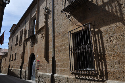 Ciudad Rodrigo (Salamanca).  Palacio de los Águila