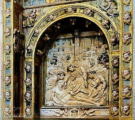 Altar de alabastro - Catedral de Ciudad Rodrigo