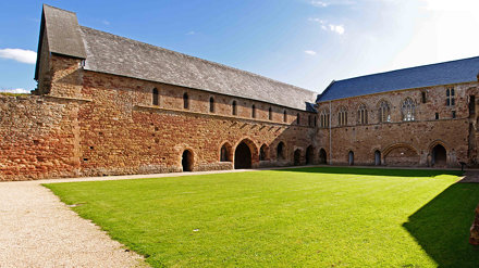 Cleeve Abbey - Cloister Court