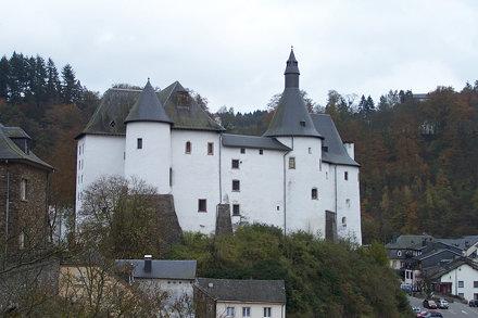 Château de Clervaux - Clervaux, Luxembourg