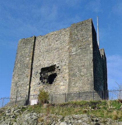 Clitheroe Castle keep